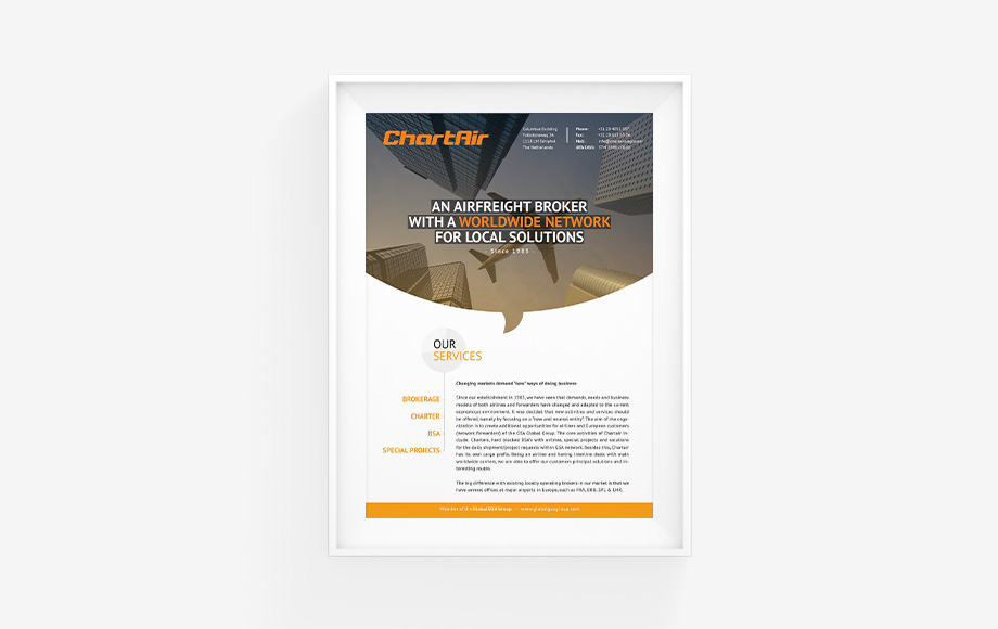 Dutchon - Branding Design Development - Chartair